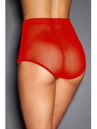 Culotte haute sexy - rouge