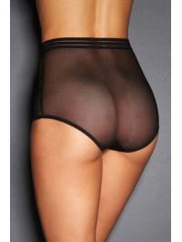Culotte haute sexy - noire