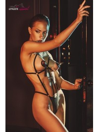 Body harnais noir Belleza -...
